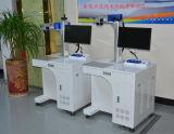 TischplattenC02/Fiber Markierungs-Maschine des Faser-Laser-Stich-