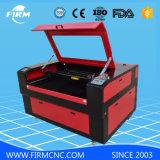 Máquina de grabado de cuero de madera de acrílico del corte del laser del CO2