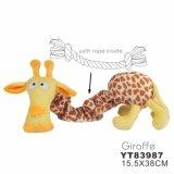 Heiß! ! Giraffe-Form-Hundeplüsch-Spielzeug (YT83987)