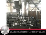 Máquina tampando do único parafuso principal automático para frascos de Palstic