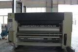 Máquina de entalho e cortando da impressão de cartão ondulado