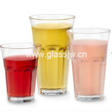 Machine perste Cheap Promotional Drinking Glass Cup, Beer Glass