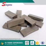500 мм сегмент алмаза для мраморного гранита 40 * 4,5 * 10 мм