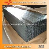 Поставка горячая/гофрированная катушка строительного материала горячая окунутая гальванизированная настилающ крышу плита металла стальная