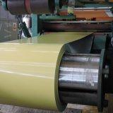 L'application composée de panneau a enduit l'enroulement d'une première couche de peinture en aluminium