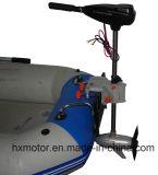 motor externo sin cepillo de la C.C. 200lbs con el regulador de la velocidad de Stepless para el bote de salvamento