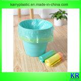 Plastikdrawstring-Beutel, Plastikabfall-Sack mit Drawtape