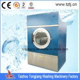 Equipamento completo de secagem hospitalar de aço inoxidável, máquina de secar roupa de 100kg