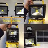 10W Refletor AC110-240V 재충전용 LED 투광램프