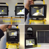 10W Refletor AC110-240V Holofote LED Recarregável