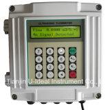 Flussometro tenuto in mano e portatile del sensore di flusso, contatore ultrasonico fissato al muro