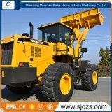 Carregador Earth-Moving da roda da parte frontal da maquinaria 5ton de China