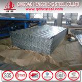 建築材料亜鉛は鋼鉄によって電流を通された屋根シートを波形を付けた