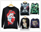 Neue Form fertigen Digital gedruckte Frauen Hoody kundenspezifisch an