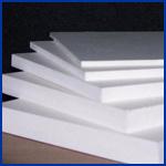 Hoja blanca del PVC Celuka del color usada en muebles