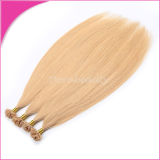棒の先端の人間の毛髪の卸売の熱い融合のRemyの毛の拡張