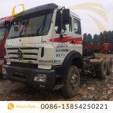 Camion utilizzato 6X4 della testa del trattore di Beiben di prezzi bassi con tecnologia del benz di Mercedes per l'Africa
