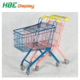 Kind-Babykiddie-Supermarkt-Einkaufen-Laufkatze