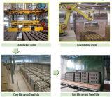 Automatische Stevige Bakstenen die Lopende band met de Oven van de Tunnel maken