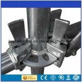 L'acciaio Q235 ha galvanizzato il sistema dell'impalcatura di Ringlock usato Layher da vendere