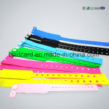 Wristband Ultralight impermeável macio do PVC RFID MIFARE EV1 NFC