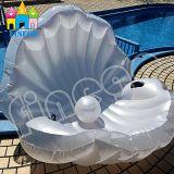 Aufblasbare Flamingo-Shell-Kamm-Muschel-Perlesich hin- und herbewegendes Swim-Pool-Spielzeug