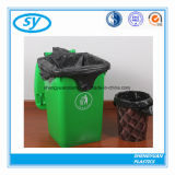 Sac d'ordures en plastique estampé par coutume matérielle de PE