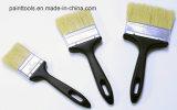 Cepillo de cerda con la maneta plástica negra