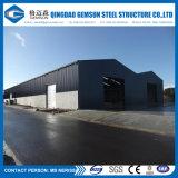 Gruppo di lavoro prefabbricato Q235/345 Gms-Ss1078-L del blocco per grafici d'acciaio di Cusomized con le lamiere di acciaio o il pannello a sandwich ondulate