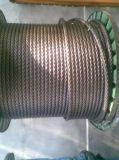 기중기를 위한 압축된 신형 철강선 밧줄 4vx39s+5FC