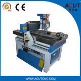machine à sculpter Acut-6090 Pierre, le travail du bois défonceuse à commande numérique sur axe rotatif 4 avec de gros