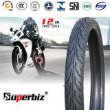 17 pouces nouveaux OEM 6pr de la courroie de nylon en caoutchouc naturel des pneus diagonaux motif horizontal moto pneus basse pression (60/80-17) avec l'ISO