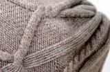 冬のカシミヤ織の帽子