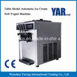 Modelo de mesa popular de helado de yogur automático suave de la máquina en promoción