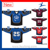 Healong modificó jerseys por completo sublimados del hockey sobre hielo para requisitos particulares
