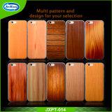 2017 nuevo llegar para el caso de madera del modelo TPU para el iPhone 6s