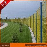 Valla de alta seguridad de la calidad del PVC del jardín decorativo artificial