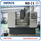 Máquina de trituração vertical Vmc7032 do centro fazendo à máquina da linha central do CNC 4 do alumínio