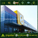 Супермаркет структуры промышленной стали ISO полуфабрикат светлый