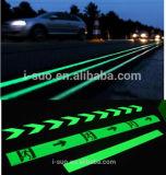 발광성 분말 도로 표 사용