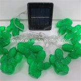 Nuovo indicatore luminoso solare della stringa del cactus del giardino (RS1024D)