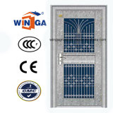 Wasserdichte Außenseite Using Edelstahl-Sicherheits-Glastür (W-GH-22)