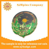 L'émail dur paillettes Épinglette avec époxy, personnalisé d'un insigne, le métal de l'artisanat