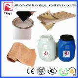 接着剤が木製の皮を加えるのに使用されている