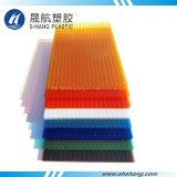 Het UV Met een laag bedekte Kleurrijke Lichtgewicht Plastic Afbaardende Blad van het Polycarbonaat