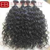 バージンの毛のブラジルのIndainの毛の100%年のRemyの人間の毛髪の織り方