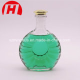 Cristal de botellas de cristal de vino de la alta calidad para el licor
