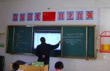 Schieben der Tafel für Fernsehapparat oder interaktives Whiteboard