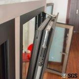 Finestra interna con la multi serratura, finestra di alluminio, finestra K04007 di inclinazione e di girata di profilo di alluminio termico della rottura