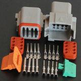 Автоматический разъем Dt Deutsch штепсельной вилки гнезда Pin провода сборки кабеля
